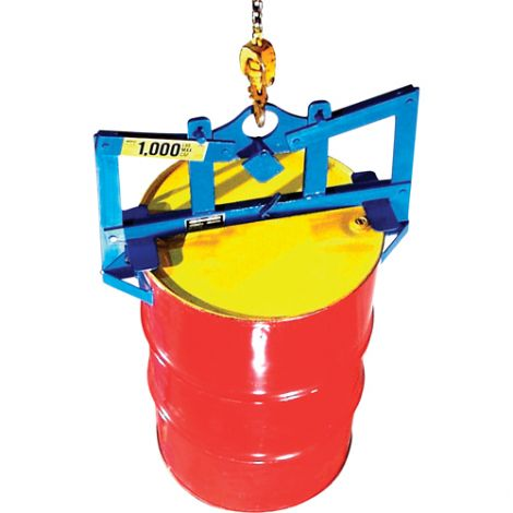 Automatic Vertical Drum Lifter -  Lifts Drum Size Gallons: 45 - Steel