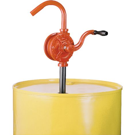 Rotary Type Drum Pump - Pump Material: Steel and Cast Iron