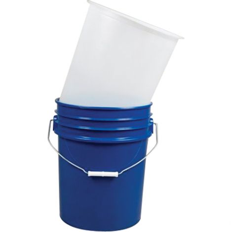 Inserts For 5-Gallon Steel Pails - Wall Thickness: 15 mil - Material: LDPE - Qty/Case: 100
