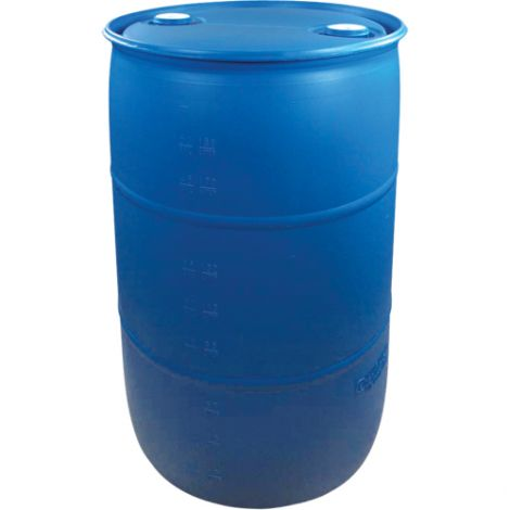 Blue Polyethylene Drums - Drum Size: 30 US gal (25 imp. gal.) - Unlined / Closed Top