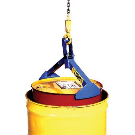 Drum/Overpack Lifter - Steel - Drum Capacity: 55 -85 US gal. (45 -70 Imperial Gal.)