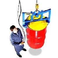 Automatic Vertical Drum Lifter - Lifts Drum Size Gallons: 85 - Steel