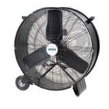 Light Industrial Direct Drive Drum Fans - Size: 36""