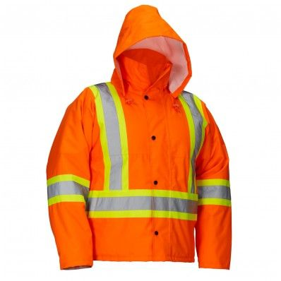 Safety Driver's Jacket - Size 3XL