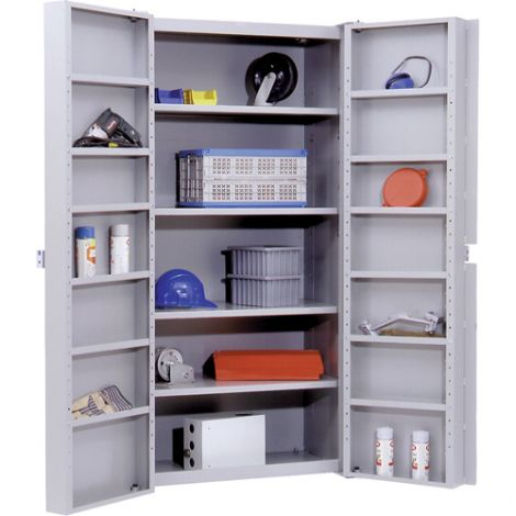 """Deep Door Storage Cabinet - 38""""W x 24""""D x 72""""H"""