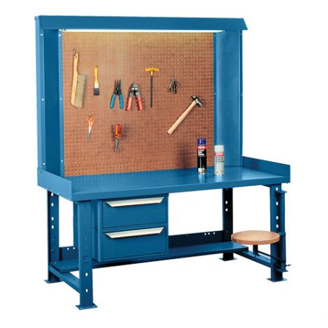 "Maxi-Bench Workstation - Width: 60"" - Depth: 30"" - Height: 70"""