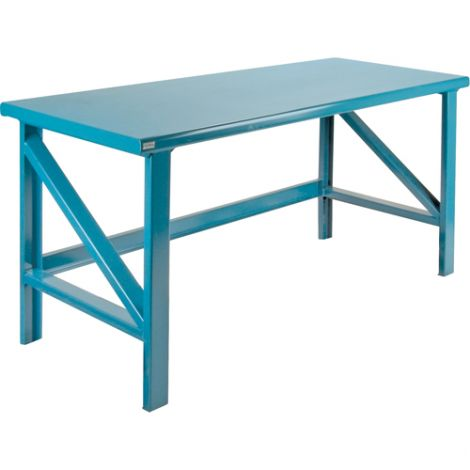 """Extra Heavy-Duty Workbenches - All-Welded - Static - Dimensions: 72""""W x 30""""D x 34""""H - Capacity: 5000 LBS."""
