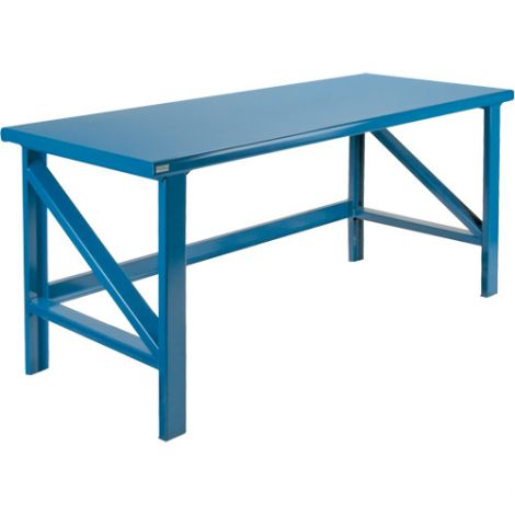 """Extra Heavy-Duty Workbenches - All-Welded - Static - Dimensions: 72""""W x 36""""D  x 34""""H - Capacity: 5000 LBS."""