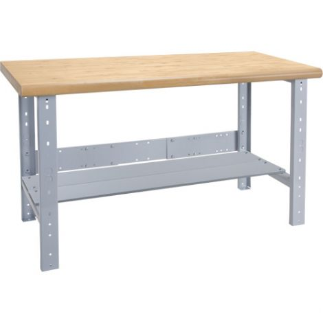"Pre-designed Workbenches - Capacity: 2500 lbs. - Configuration: Shelf - Height: 34"" - Width: 60"""