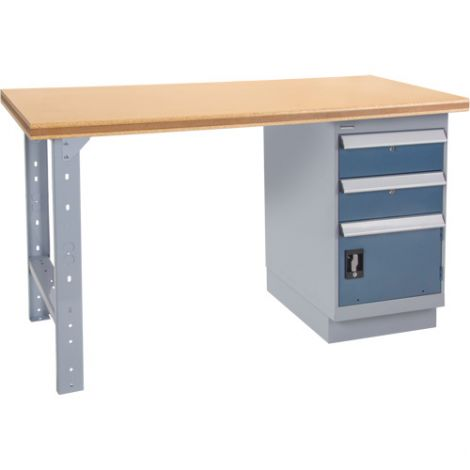 """Pre-designed Workbench - Configuration: Drawers - Height: 34"""" - Width: 60"""""""