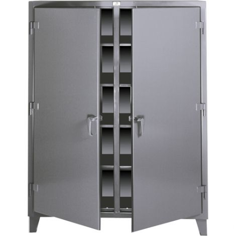 "Double Shift Storage Cabinets - 24""D x 72""W x 72""H"