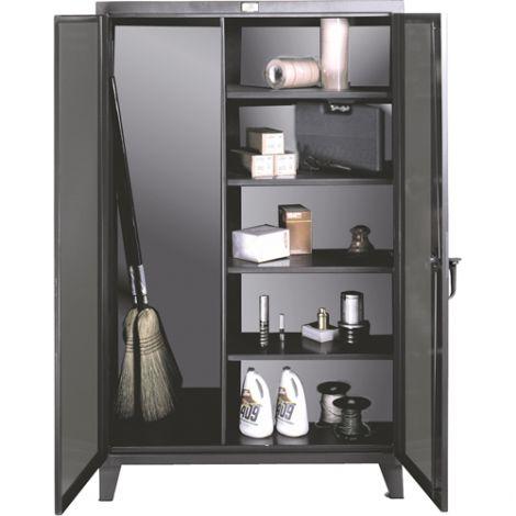 """Broom Closet Storage Cabinet - 48""""W x 24""""D x 72""""H"""