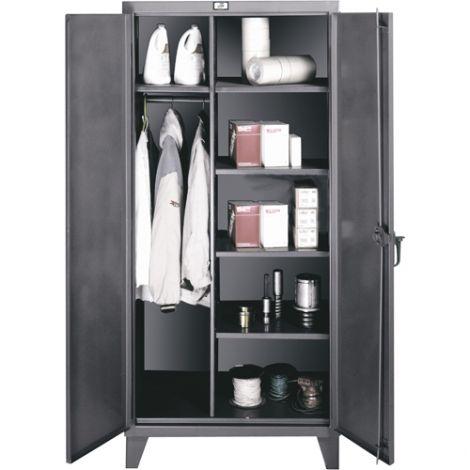 "Wardrobe/Storage Cabinet - 24""D x 48""W x 72""H"