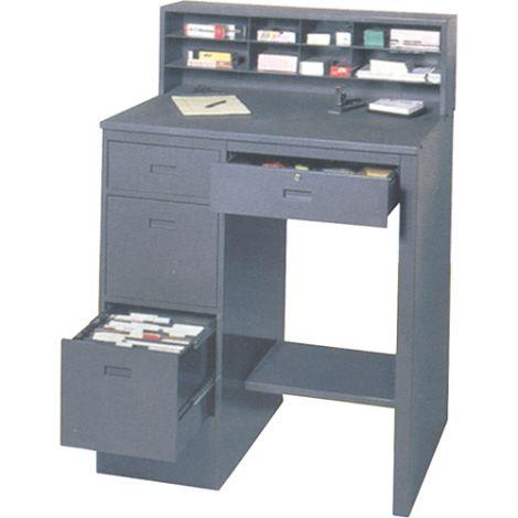 """Deluxe Shop Desk - 39""""W x 28-3/4""""D x 55-1/2""""H"""