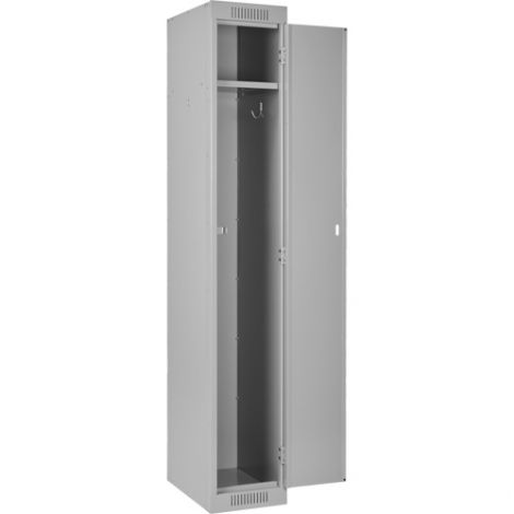 Assembled Clean Line ™ Economy Lockers Basic Style - No. of Tiers: 1 - Bank of: 1 - Ships Free