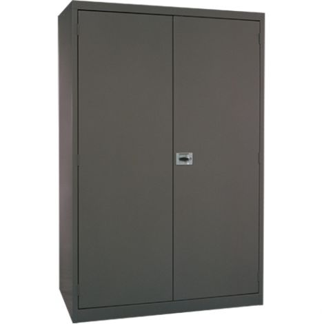 All-Welded Deep Hi-Boy Storage Cabinet - Colour: Charcoal