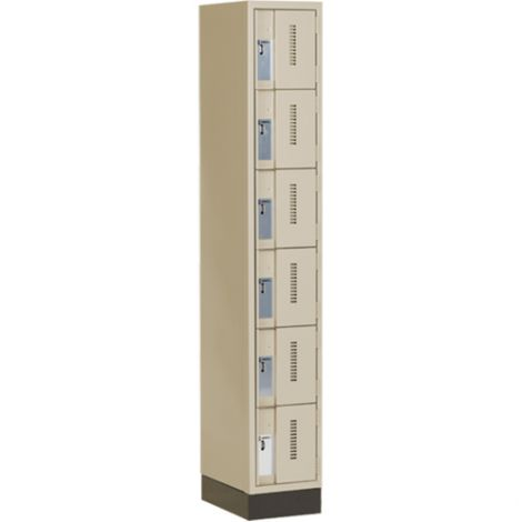 All-Welded Concord™ Heavy-Duty Lockers - Bank of 1 - Colour: Beige