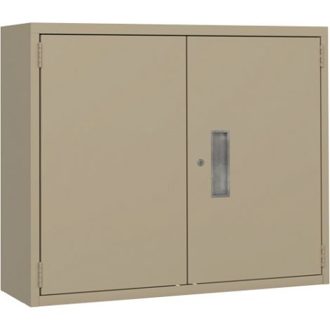 Wall Hung Storage Cabinet - Colour Beige