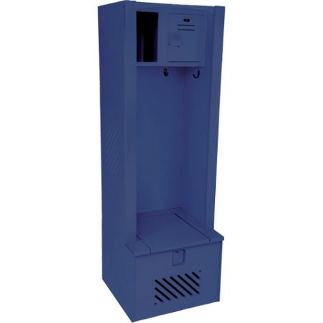 "Lenox® High-Density Polyethylene Gear Locker - 18""D x 24""W x 72H - Colour: Dark Blue"