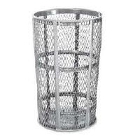 Street Baskets - Capacity: 52 US gal. - Colour: Galvanized