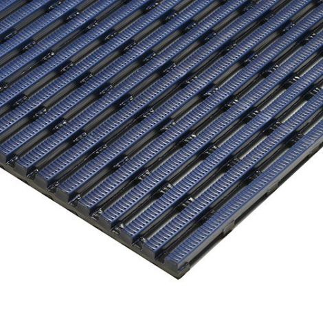 Heronrib Matting - 4' x 33'  - Colour: Oxford Blue