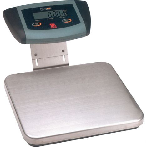 """Low Profile Bench Scale - Capacity: 110 lbs. / 50 kg - 20-1/2""""L x 15-7/10""""W"""