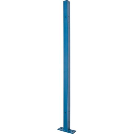 Universal Post - Height: 10-1/4' - Colour: Blue