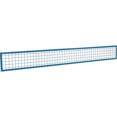 Wire Mesh Partition Panel - Dimensions: 8'W x 1'H