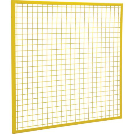 Wire Mesh Partition Panel - Dimensions:  4'W x 4'H