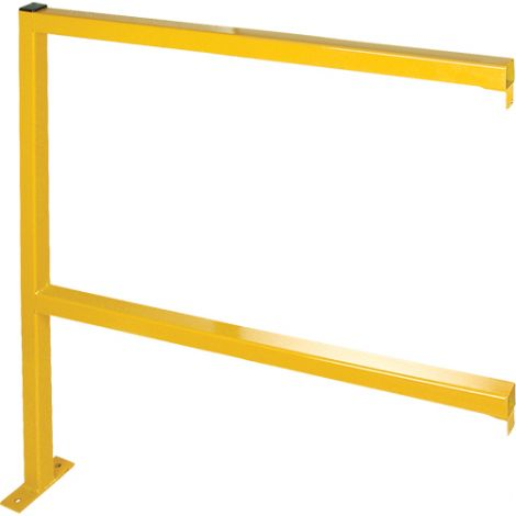 Perimeter Guard - Tubular Style /Add-On Section - Width: 4' - Height: 4.125'