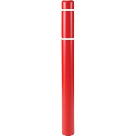 "Polyethylene Bollard Cover - Fits Bollard Length: 72"""