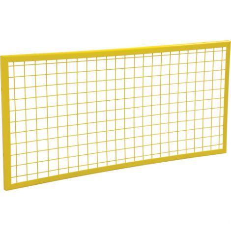 Wire Mesh Partition Panel - Dimensions: 4'W x 2'H