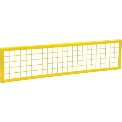 Wire Mesh Partition Panel - Dimensions: 4'W x 1'H