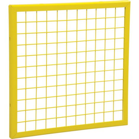 Wire Mesh Partition Panel - Dimensions: 2'W x 2'H