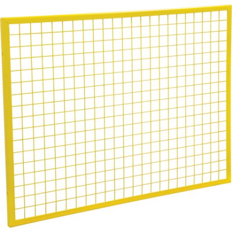 Wire Mesh Partition Panel - Dimensions: 3'W x 4'H