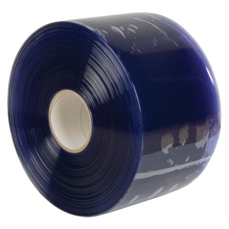 "Bulk Strip Curtain Roll - Strip Width: 8"" - Strip Thickness: 0.08"" - Strip Length: 300'"