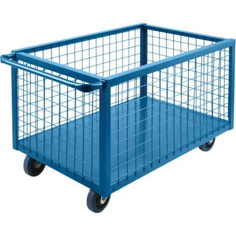 """Wire Mesh Box Truck - Volume Capacity: 20 cu. ft. - Overall Length: 63"""""""