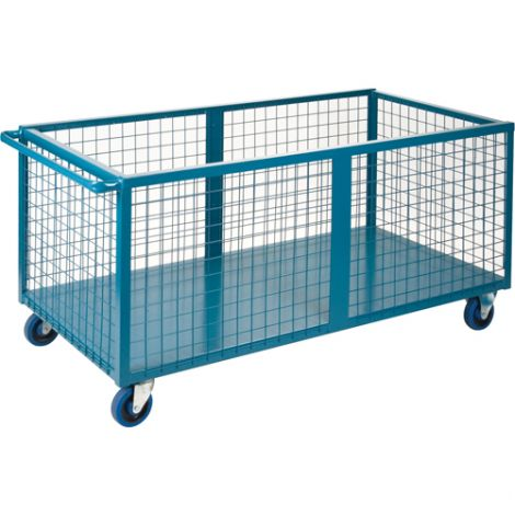 """Wire Mesh Box Truck - Volume Capacity: 25 cu. Ft. - Overall Length: 63"""""""