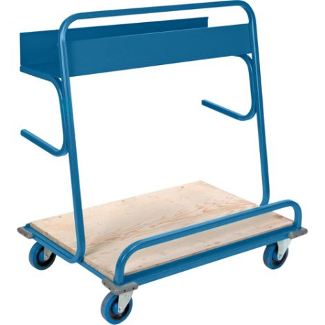 """Lumber Cart - Overall Height: 45"""" - Overall Width: 26"""""""