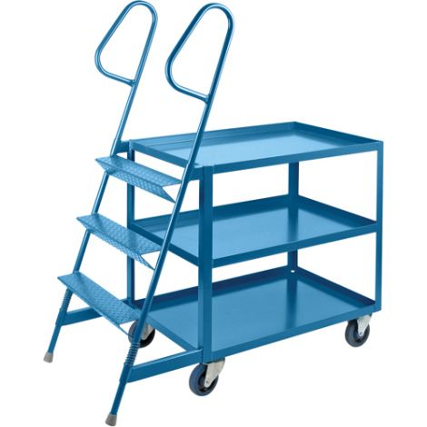 """Stock Picking Carts - 24""""W x 36""""D - 3 Step"""