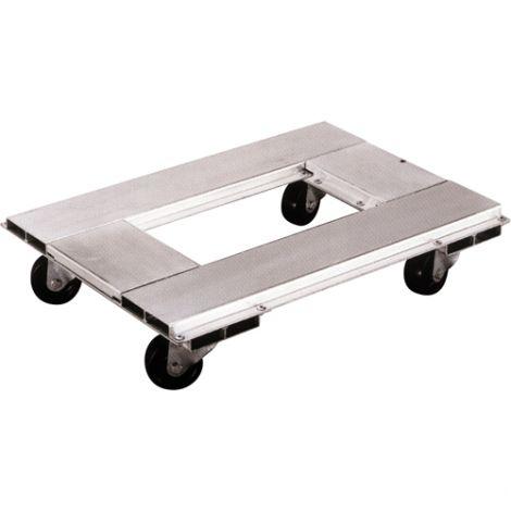 """Lightweight Aluminum Dollies - Dimensions: 21""""L x 30""""W"""