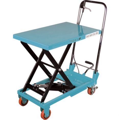 """Hydraulic Scissor Lift Table - Platform Dimensions: 27-1/2""""L x 17-3/4""""W"""
