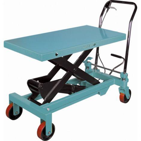 """Hydraulic Scissor Lift Table - Platform Dimensions: 39-3/8""""L x 20-1/8""""W"""