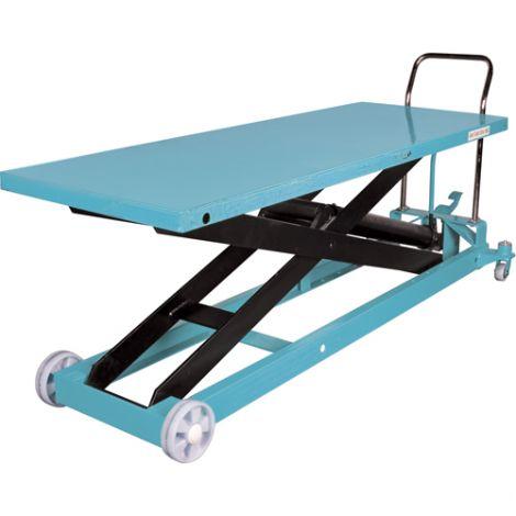 """Hydraulic Scissor Lift Table - Platform Dimensions: 80-1/8""""L x 29-1/2""""W"""