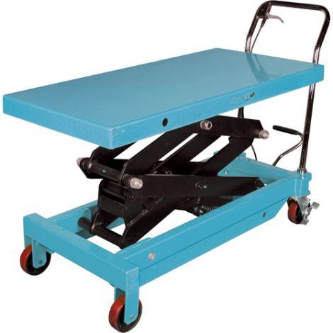 """Hydraulic Scissor Lift Table - Platform Dimensions: 48""""L x 24""""W"""