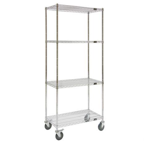 """Wire Shelf Carts - 24""""D x 60""""W x 74""""H"""