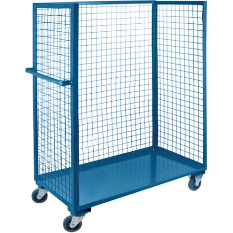 "Wire Mesh Utility Carts - 30""W  x 60""L"