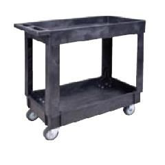 """Plastic Utility Service Carts - Overall Width: 17-1/2"""""""