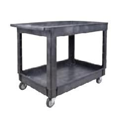 """Plastic Utility Service Carts - Overall Width: 25-1/2"""""""