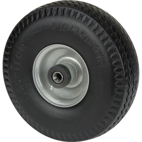 "Flat Free Wheel - Wheel Dimensions: 10"" x 3 1/2"""